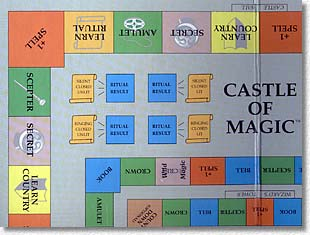 Castle of Magic board
