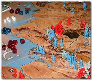 War of the Ring board