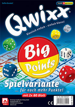 Qwixx - Big Points cover
